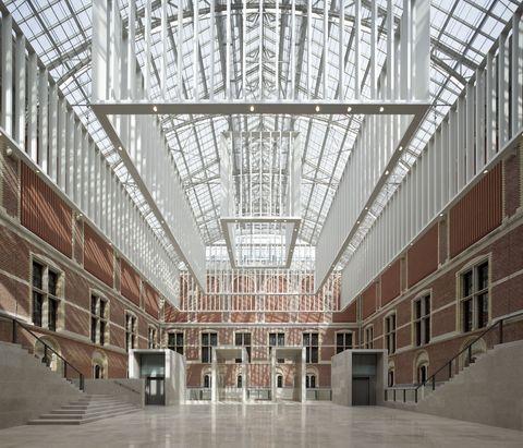 Rijksmuseum, de Cruz y Ortiz Arquitectos. Foto: Pedro Pegenaute