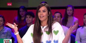 Cristina Pedroche se lleva un corte en 'Zapeando'