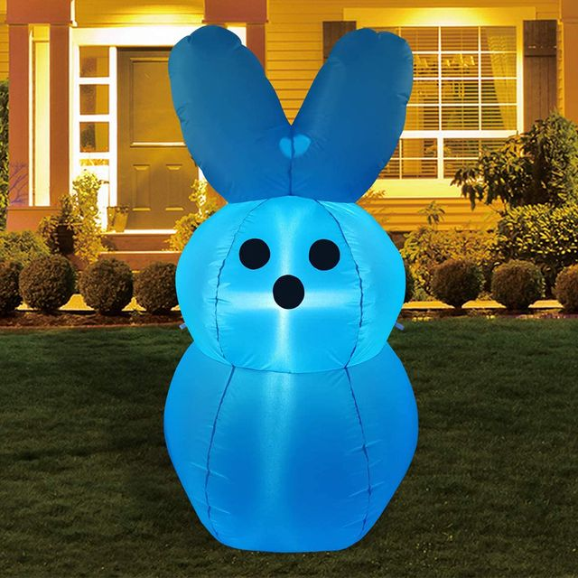 peeps marshmallow easter inflatable decoration