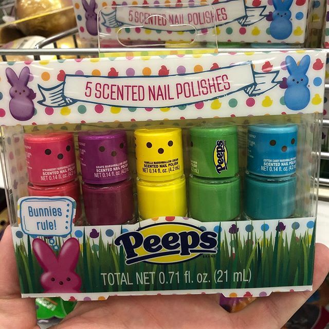 Target Is Selling Peeps Scented Nail Polish