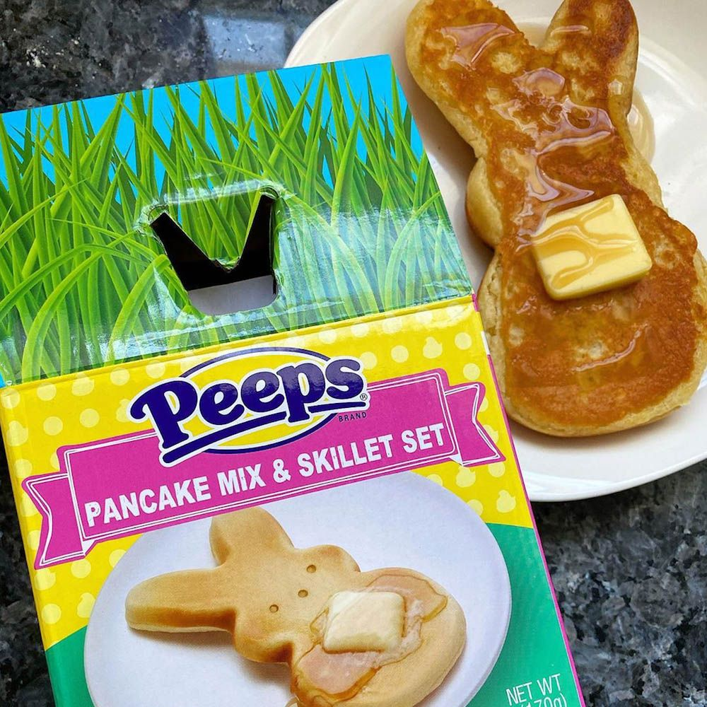 This Peeps Pancake Set Comes With a Bunny-Shaped Skillet for a Festive Breakfast