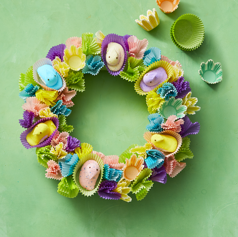 How to DIY an Easter Wreath Using PEEPS®