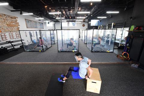 us health virus gym reopening