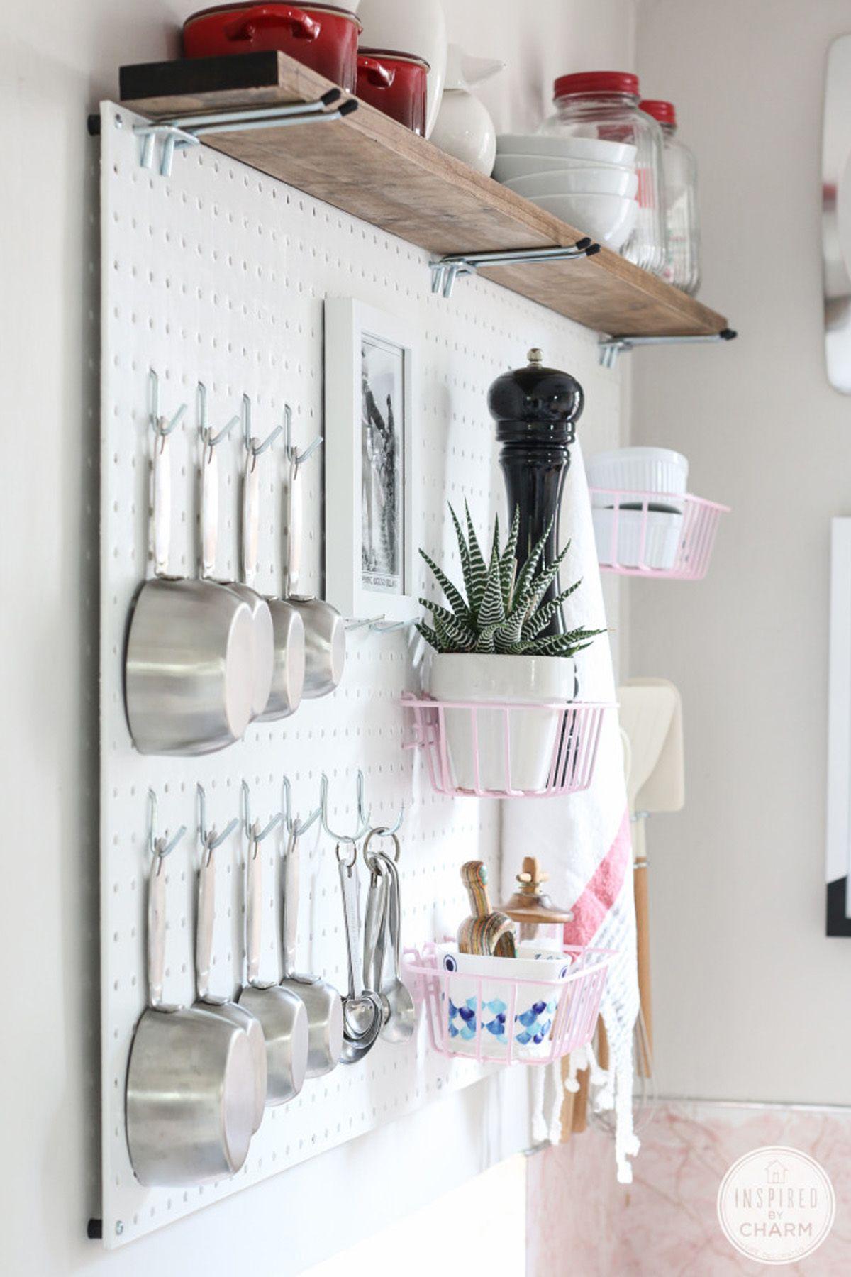 25 DIY Storage Ideas - Easy Home Storage Solutions