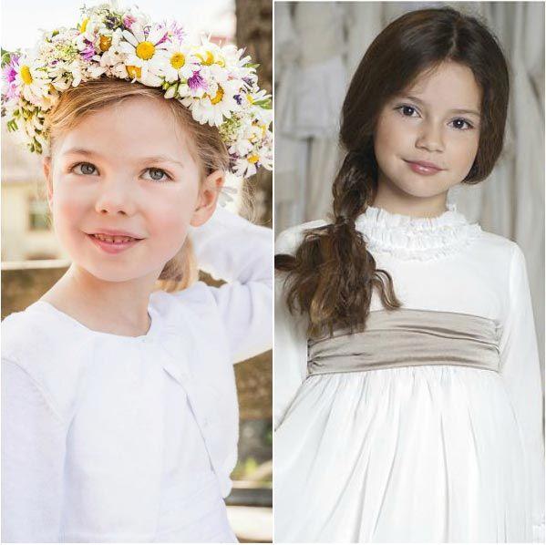 8e6e4b3b2 Peinados de niña para la Comunión - Peinados Primera Comunión