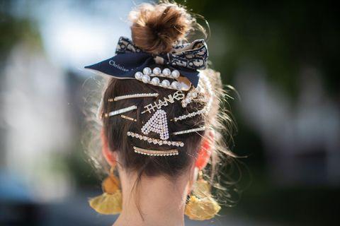 peinados elegantes con lazos