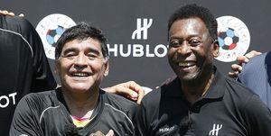 "Pelé: ""Maradona fue mucho mejor futbolista que Messi"""
