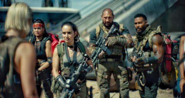 escena de la película 'el ejercito de los muertos'