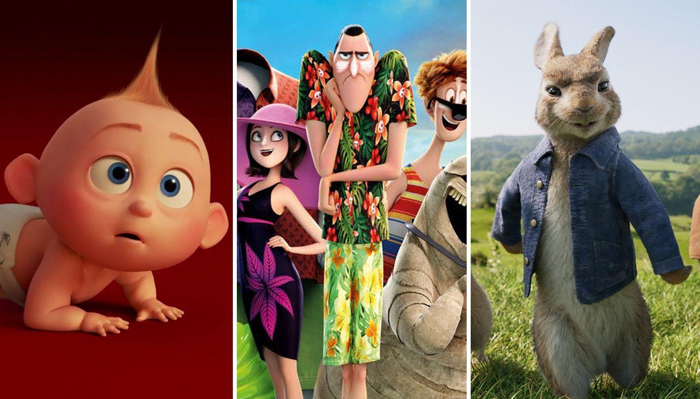 Las películas infantiles más taquilleras de 2018