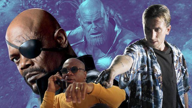 escenas de las películas de marvel y quentin tarantino vengadores infinity war y pulp fiction
