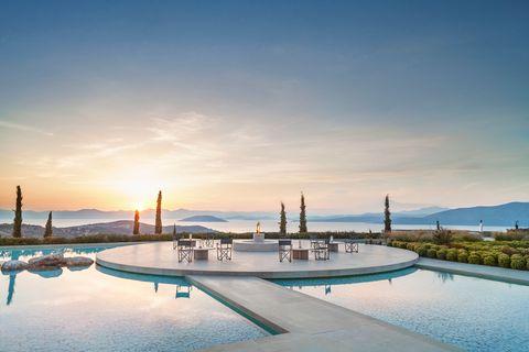 Amanzoe retreat in Peloponnese