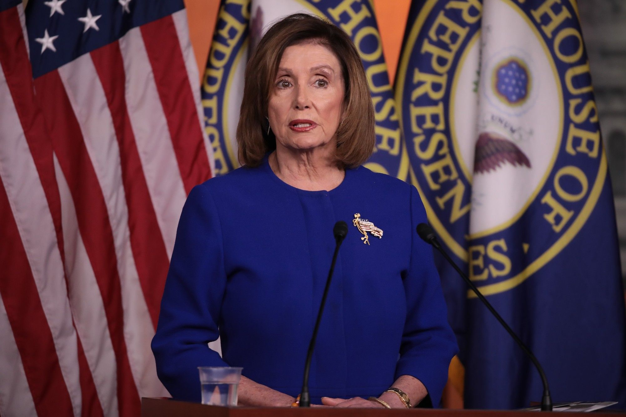 When Nancy Pelosi Says 'When I'm Good and Ready,' She Means When She's Good and Ready