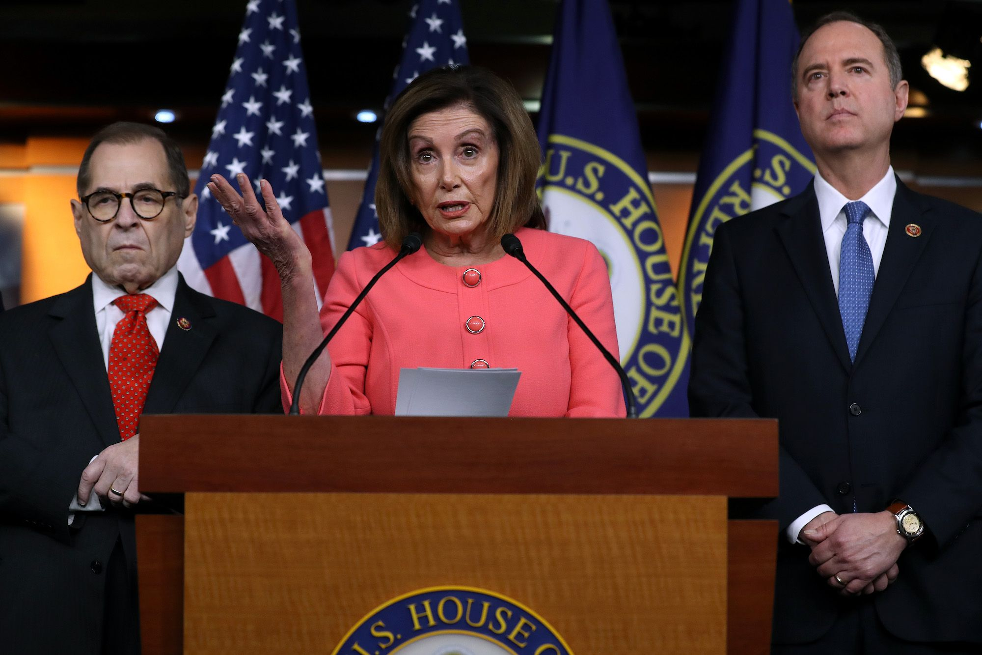 Nancy Pelosi Savaged House Republicans While Sending Off the Articles of Impeachment