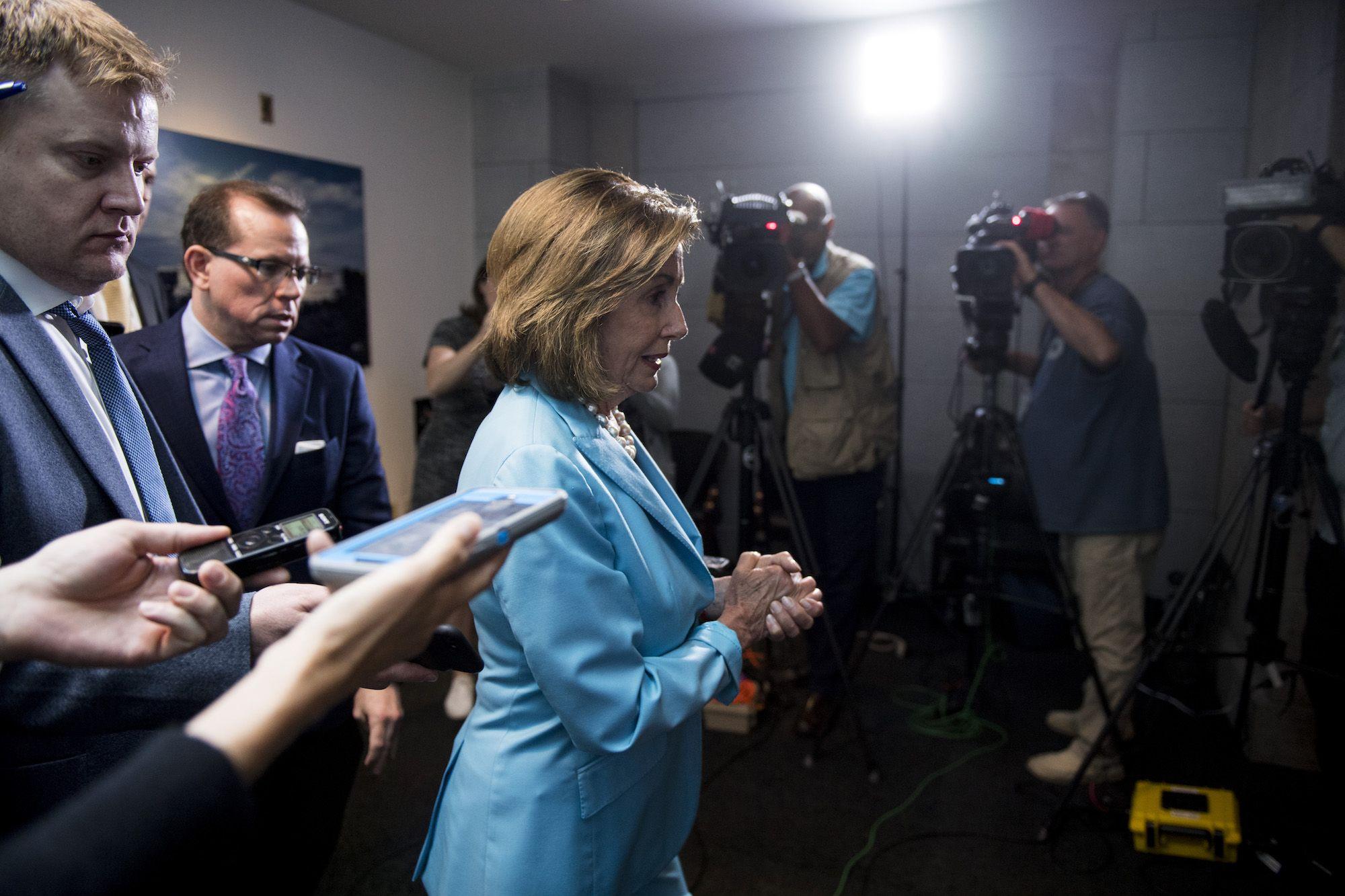 Nancy Pelosi's Leadership Now Constitutes a Constant Dereliction of Duty