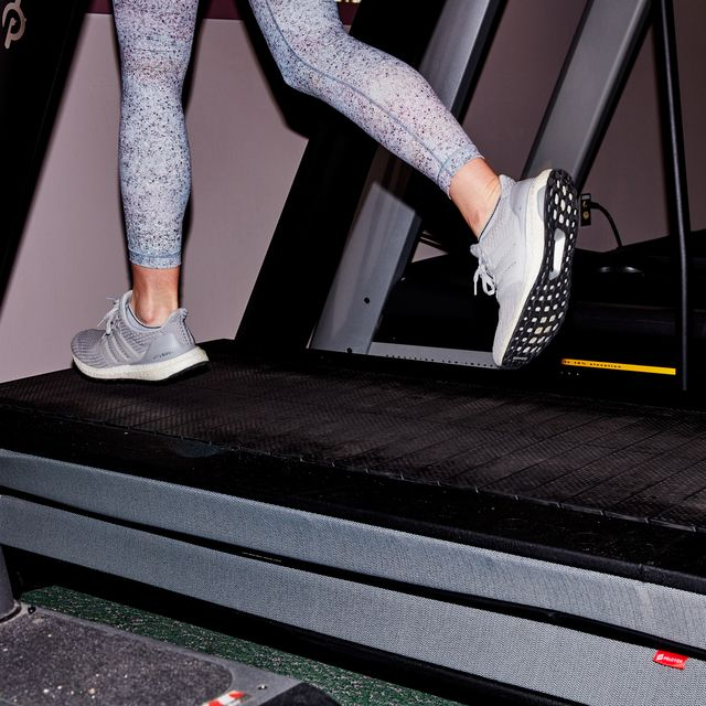 treadmill, exercise machine, leg, exercise equipment, footwear, shoe, room, sportswear, sports equipment, human leg,