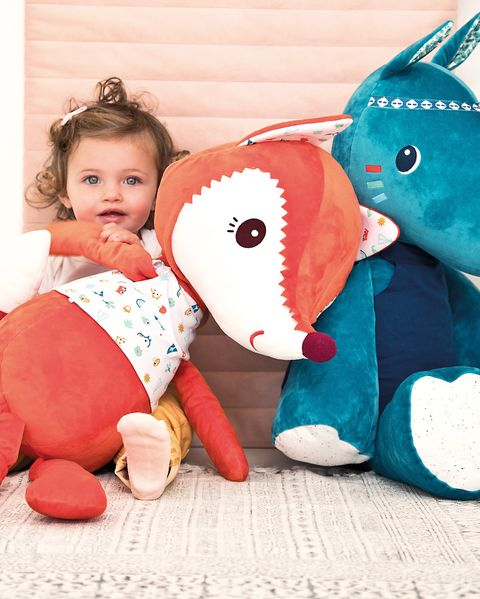 peluches infantiles con formas de animales