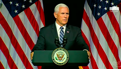 Mike Pence space force