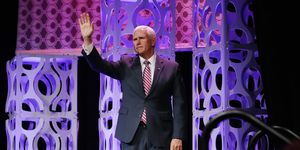 Vice President Mike Pence Speaks At Access Intelligence Conference