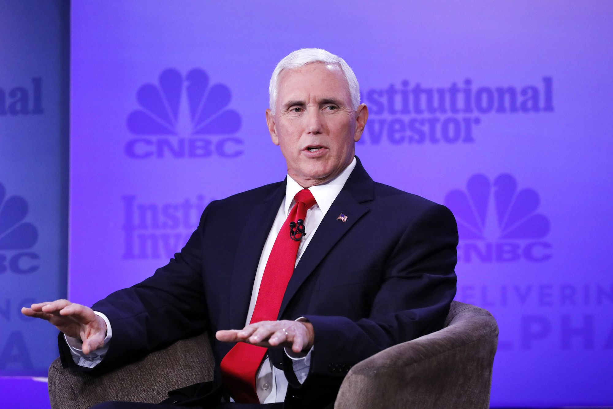 Watch Mike Pence Wobble Hilariously—and Tellingly—When Pressed on His Role in the Ukraine Fiasco