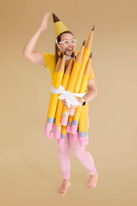 2 pencil costume