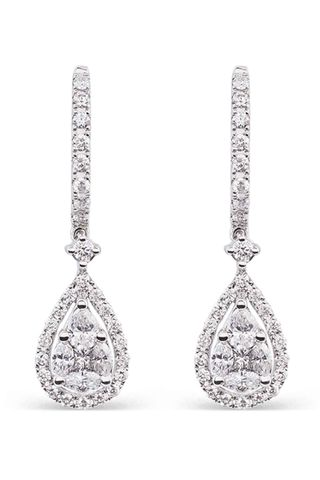 Pendientes de diamantes Suarez