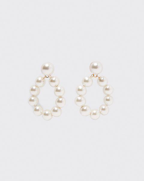 Earrings, Jewellery, Fashion accessory, Body jewelry, Pearl, Silver, Metal, Gemstone, Circle,