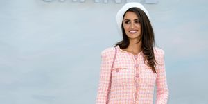 Penelope Cruz at Chanel couture show