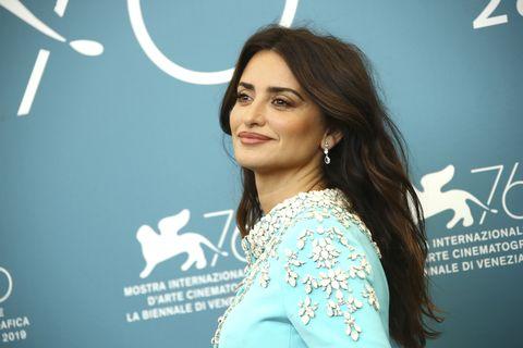 Penélope Cruz, Penélope Cruz Venecia, Festival de Venecia, Festival de cine, Penélope Cruz vestido azul