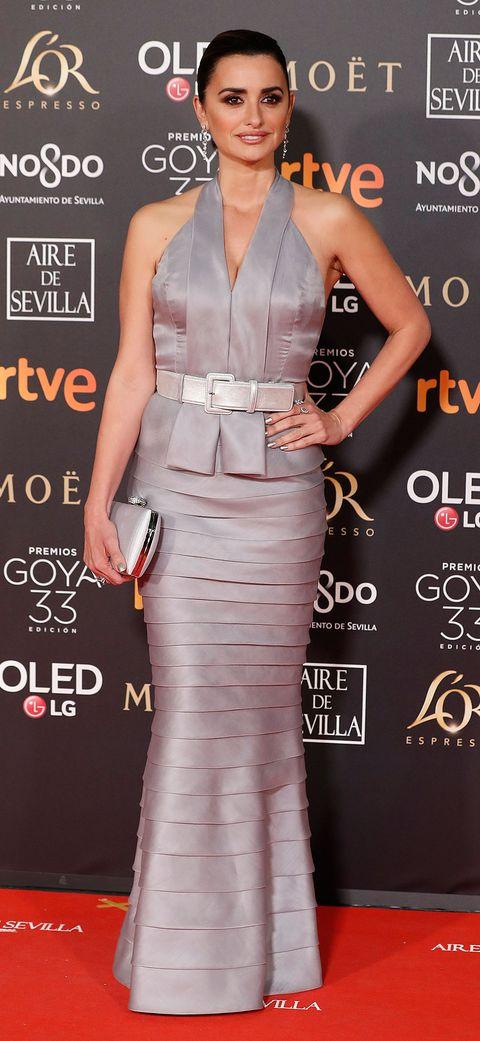 Penélope Cruz alfombra roja premios goya 2019