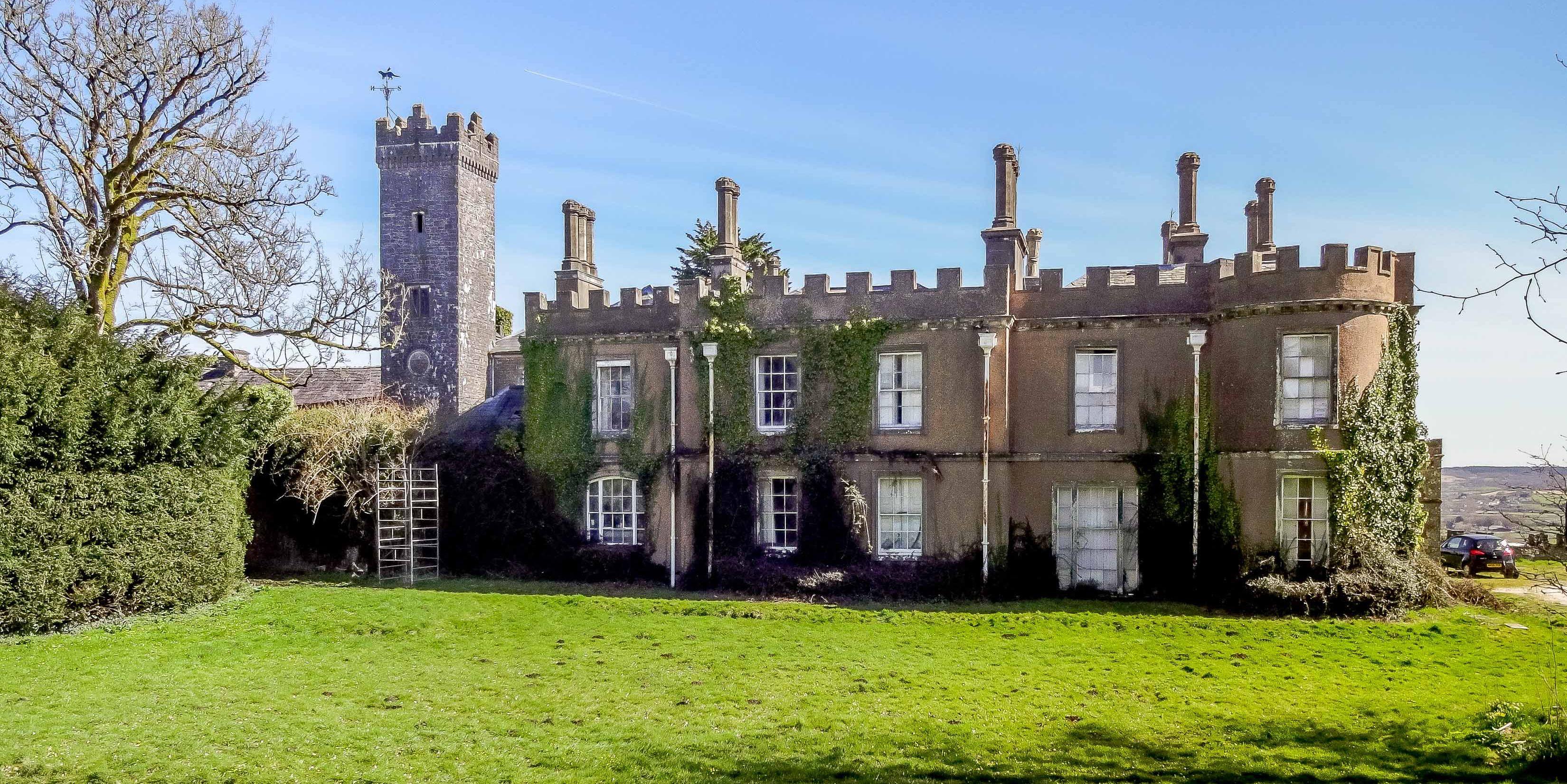 Penllyn Castle - Wales - front - Knight Frank