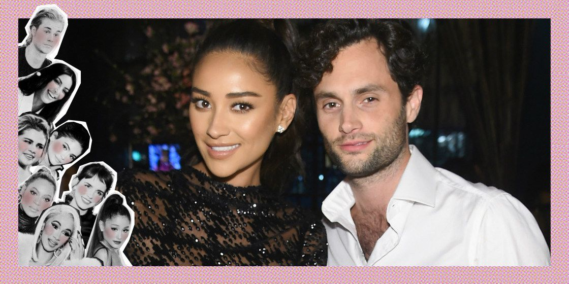 Shay Mitchell en Penn Badgley