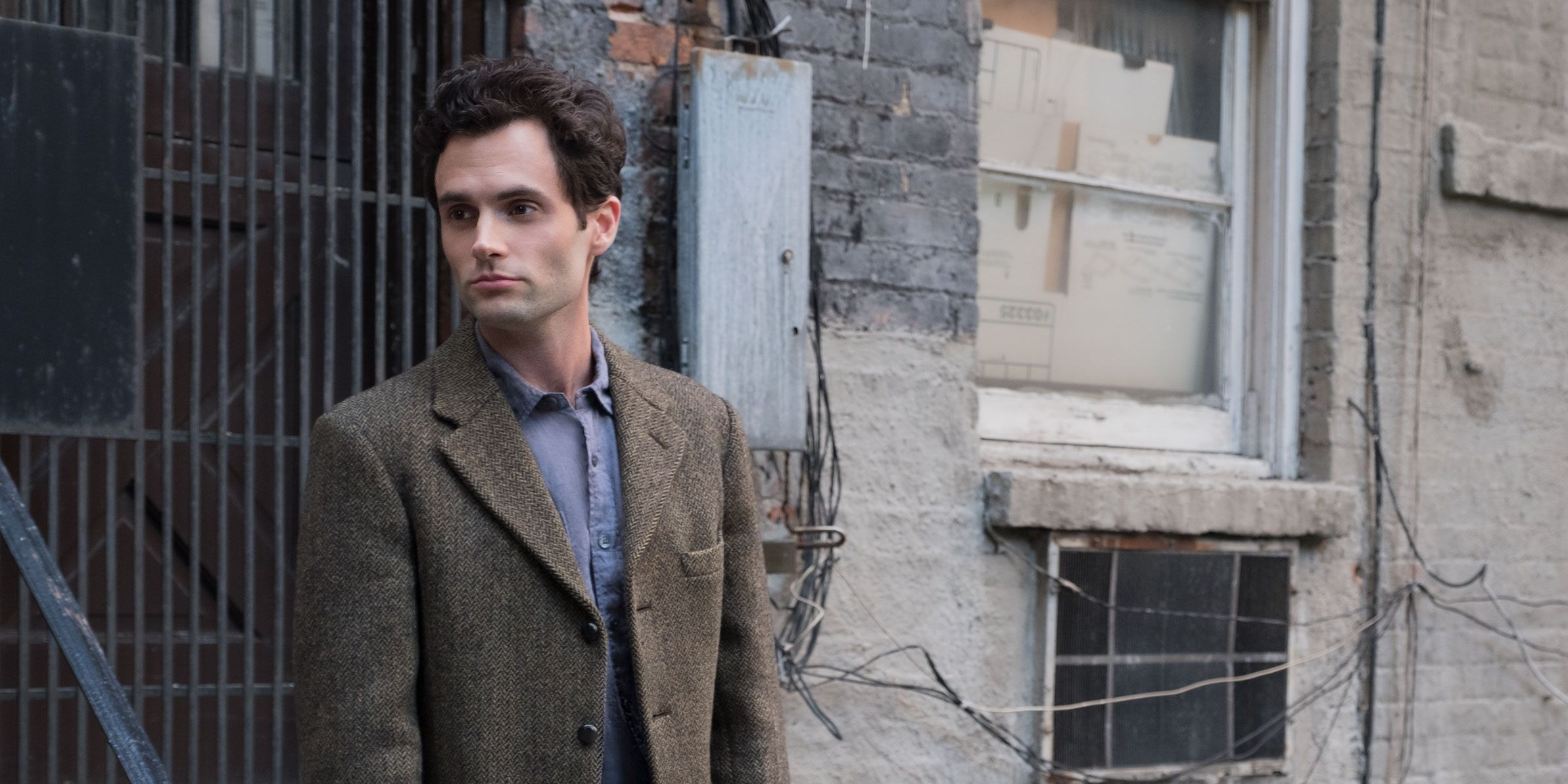 Penn Badgley as Joe Goldberg in YOU
