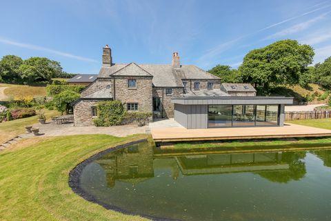 Penson Farm, Diptford, Totnes, Devon - ext