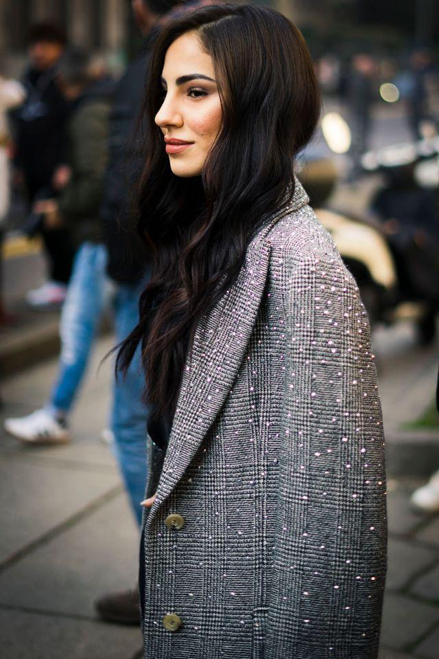 street style at ermanno scervino fashion show february 22   milan fashion week fallwinter 2020 2021