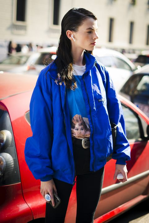 Street Style At MSGM Fashion Show: February 22 - Milan Fashion Week Fall/Winter 2020-2021