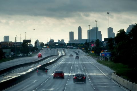 us weather storm on i 45 in houston