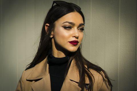 street style at dolce gabbana fashion show february 23 milan fashion week fallwinter 2020 2021