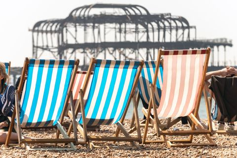 UK Set For Hot Weather Over Easter Weekend
