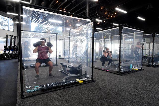 topshot us health virus gym reopening