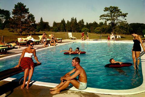 Pool At The Tocker Mill Inn