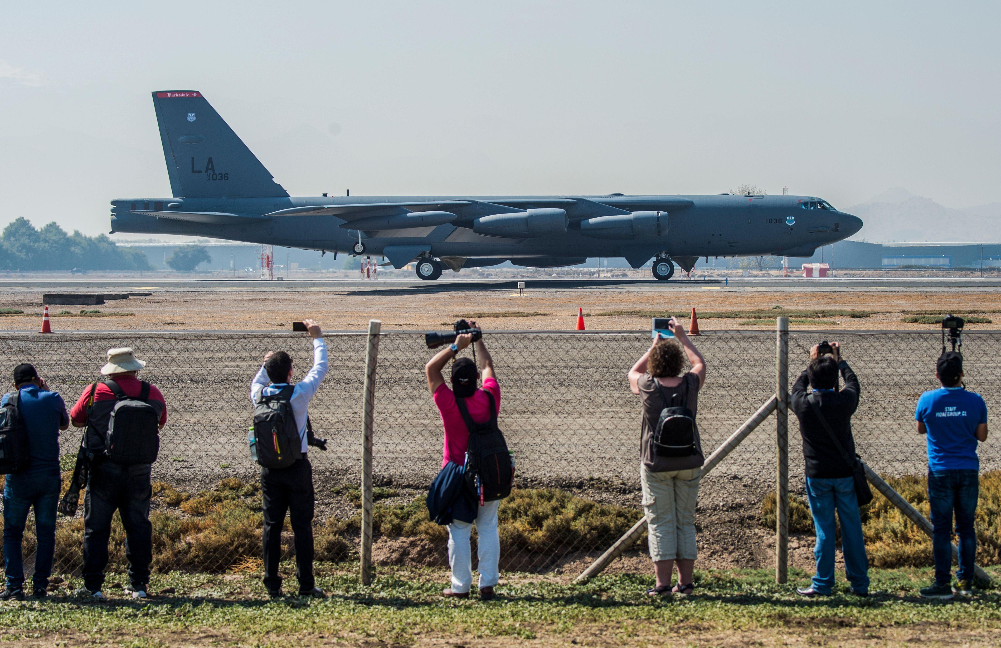B-52 na FIDAE no Chile