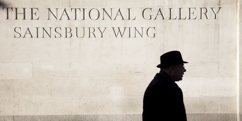 UK - London - Sainsbury Wing of The National Gallery