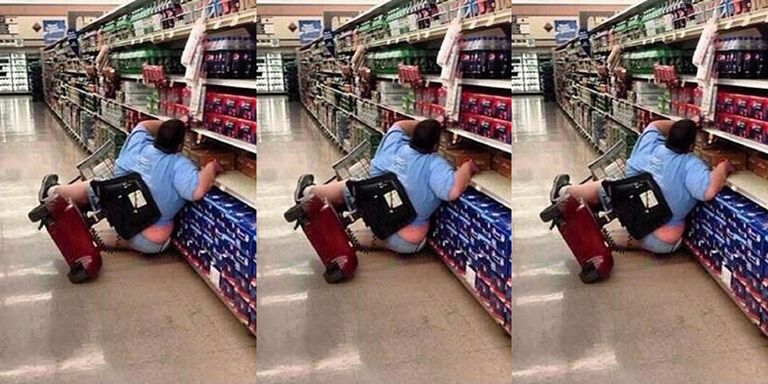 Woman Mocked For Falling Out Of Cart At Walmart Speaks Out