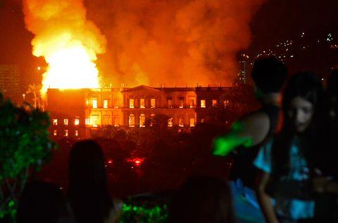 BRAZIL-FIRE-MUSEUM