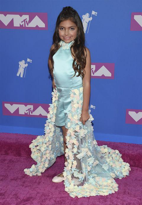 Sophia Laurent Abraham en los premios MTV VMA 2018