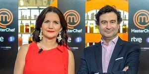 Samantha Vallejo-Nágera y Pepe Rodríguez en 'MasterChef'