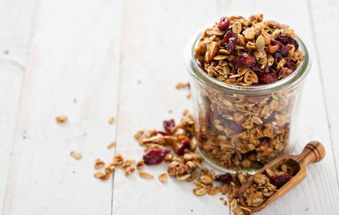 Pumpkin honey granola
