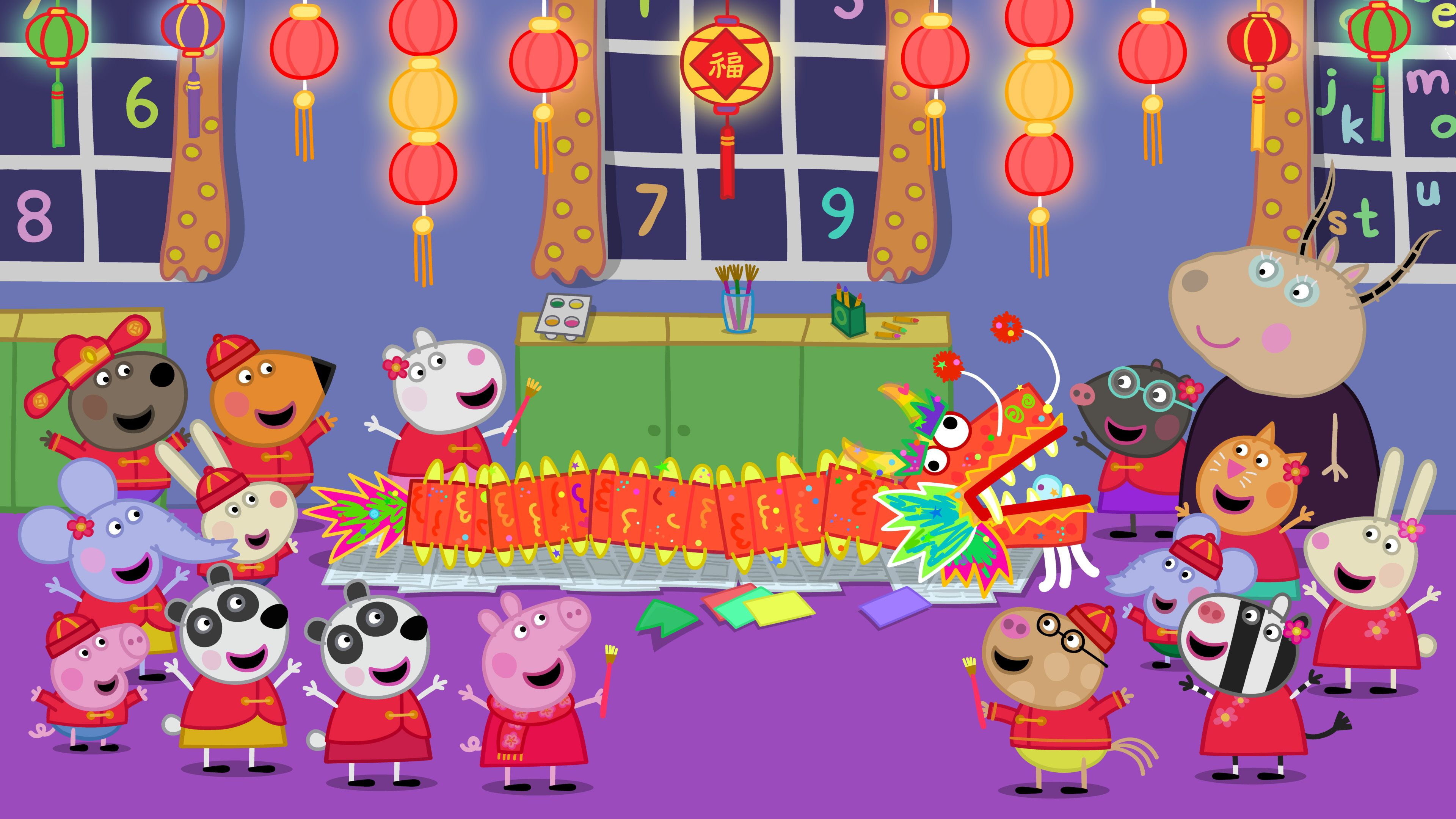 Here's a Sneak Peek of the Chinese New Year Episode of Peppa Pig