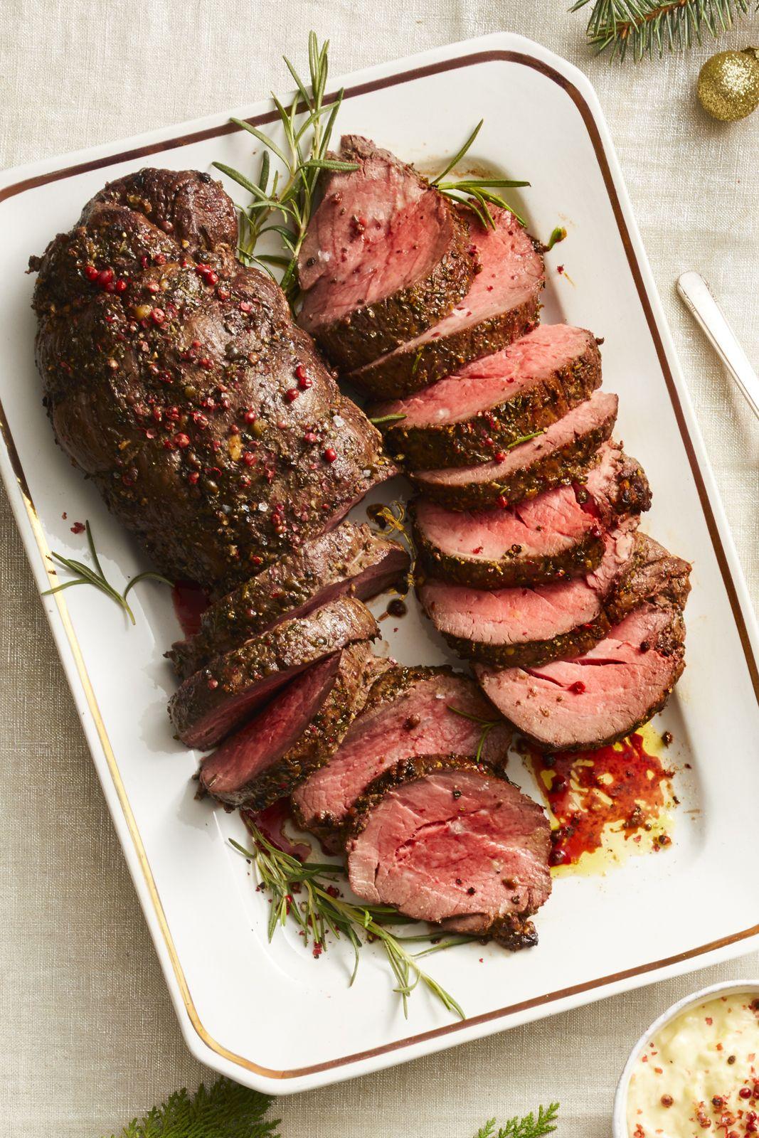 Peppercorn Beef Tenderloin