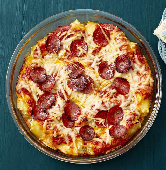 pepperoni pizza lasagna roll ups